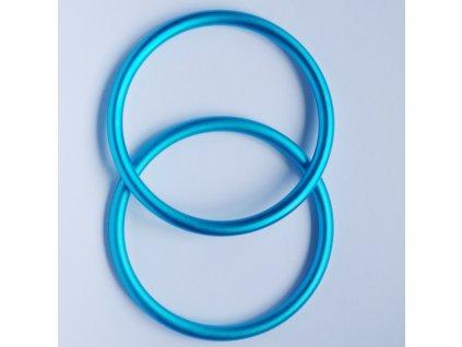 Ring Sling kroužky aqua  Ring sling kroužky na šátek Velikost RS: L - 1 ks