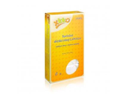 Vysokogramážní dětské pleny XKKO LUX ECO 70x70cm Natural