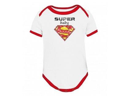 """Dětské body """"Super baby"""" - My tummy"""