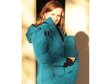 Těhotenský díl do petrolejové bundy | Adelay