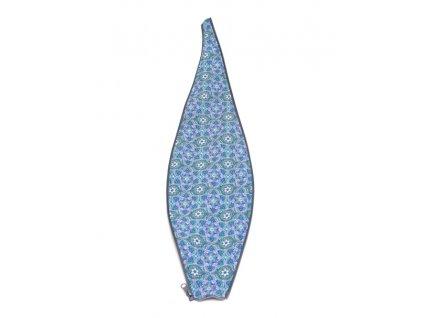 Těhotenský díl do kabátu s modrým vzorem | Adelay
