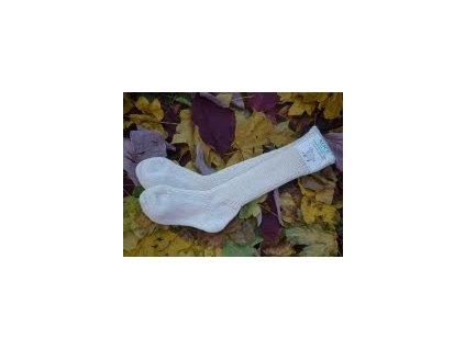 Ponožky z ovčí vlny ohrnovací Alice - Surtex