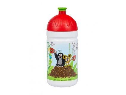 Krtek a jahody, červené 0,5l, limitovaná edice, Zdravá lahev®