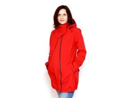 Těhotenský díl do červeného kabátu | Adelay