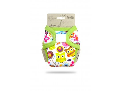 Petit Lulu Veselé sovičky - novorozenecké svrchní kalhotky