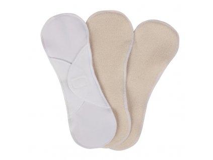 Látkové menstruační vložky denní SZ, sada 3 ks