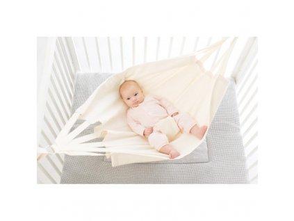 Baby Hammock závěsné houpací lůžko pro miminko col. 200 cream
