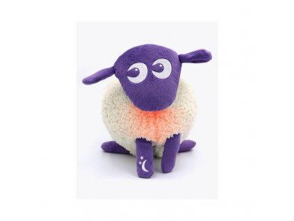 Ewan DELUXE- uspávací ovečka - fialová