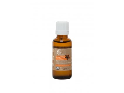 Šampon kaštanový svůní pomeranče (vzorek lahvička 30 ml)