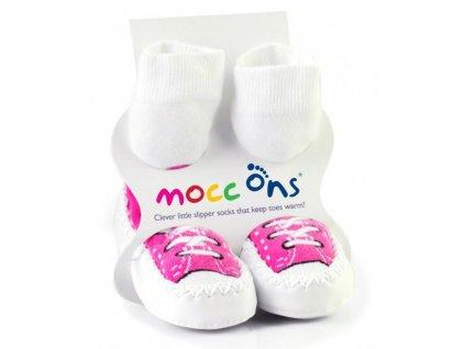 Baleríny Mocc Ons - Sneakers Pink