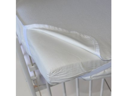 Little Angel Chránič na matraci nepropustný - bílá, 60x120 cm