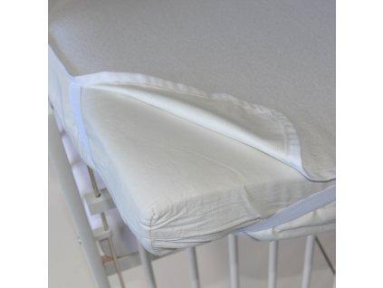 Little Angel Chránič na matraci nepropustný - bílá