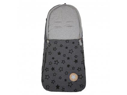 Little Angel Fusak tenký Outlast® - šedý melír hvězda/šedý melír
