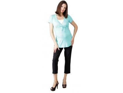 7/8 Těhotenské kalhoty Rialto Sinon černé 0333 Dámská velikost: 38