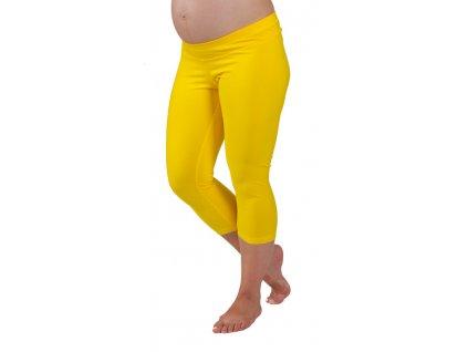 3/4  Těhotenské legíny Rialto Shaft žluté 0107 Dámská velikost: 36