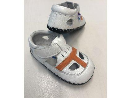 Freycoo celokožené sandálky - Ivan bílé