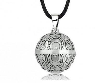 Dámský náhrdelník těhotenská rolnička Mandala