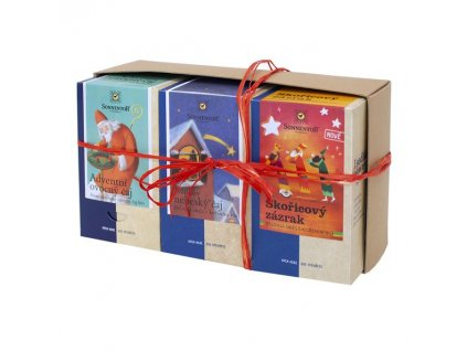 Dárkové balení čajů – Vánoce