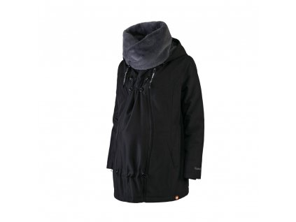 Wombat & Co. zimní bunda WALLABY 2.0 Black & Charcoal Grey, vel. L