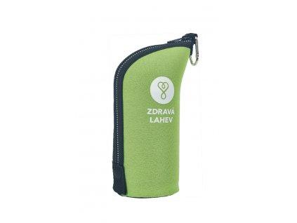 Termoobal CABRIO, 0,5l, sv. zelený, Zdravá lahev®