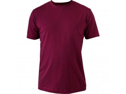 Pánské tričko Marek, krátký rukáv, cyklámen
