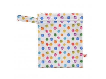 Nepromokavý pytlík XKKO Velikost S - Watercolour Polka Dots