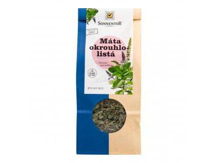Čaj Máta okrouhlolistá sypaný 50g BIO   SONNENTOR
