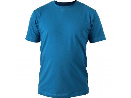 Pánské tričko Marek, krátký rukáv, tmavý tyrkys