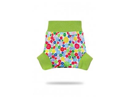 Petit Lulu Sbírka knoflíků  - pull-up svrchní kalhotky - L