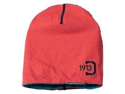 Čepice D1913 KHAM dětská oboustranná červená