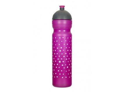 zdrava lahev 1l puntiky