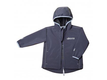 ESITO Dětská softshellová bunda letní Mono  vel. 80  - 92 - šedá / 92 ESBUNSFTMNO
