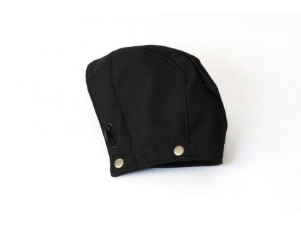 Druhá kapucka k nosícímu dílu černé bundy | Adelay