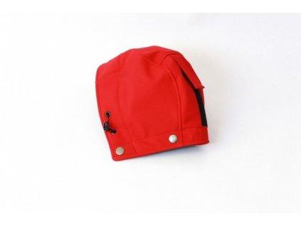 Druhá kapucka k nosícímu dílu červené bundy | Adelay