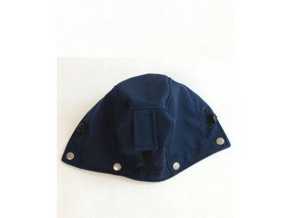 Druhá kapucka k nosícímu dílu tmavě modrého kabátu | Adelay