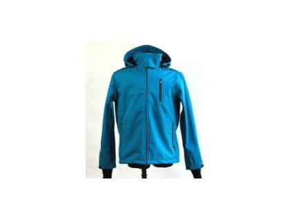 Pánská softshellová nosící bunda 2v1, modrá   Adelay