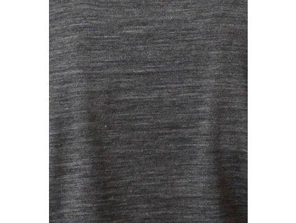 Merino kojící tričko s krátkými rukávy 2v1, šedé   Adelay