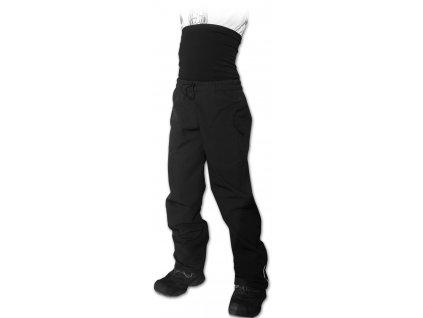 Dětské SOFTSHELLové kalhoty s nápletem v pase