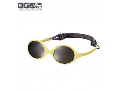 KiETLA slnečné okuliare 0-18 mesiacov žluté
