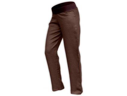 lněné kalhoty pro těhotné vel. M, vnitřní délka nohavice 82cm