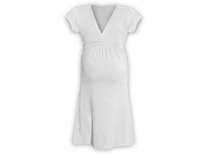 Těhotenské šaty ŠARLOTA, SMETANOVÁ