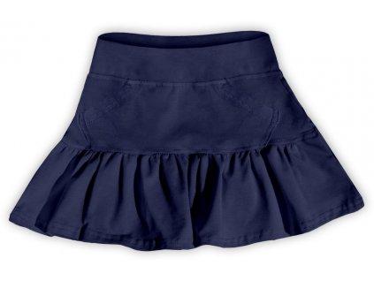 Dívčí (dětská) sukně,  TMAVĚ MODRÁ, velikost