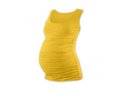 Těhotenské tílko Johanka, žlutooranžové