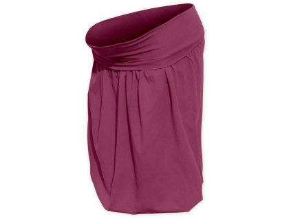 Těhotenská sukně balonová Sabina, cyklámen