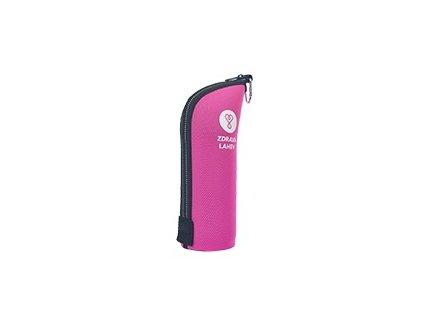 Termoobal CABRIO, 0,7l, růžový, Zdravá lahev®