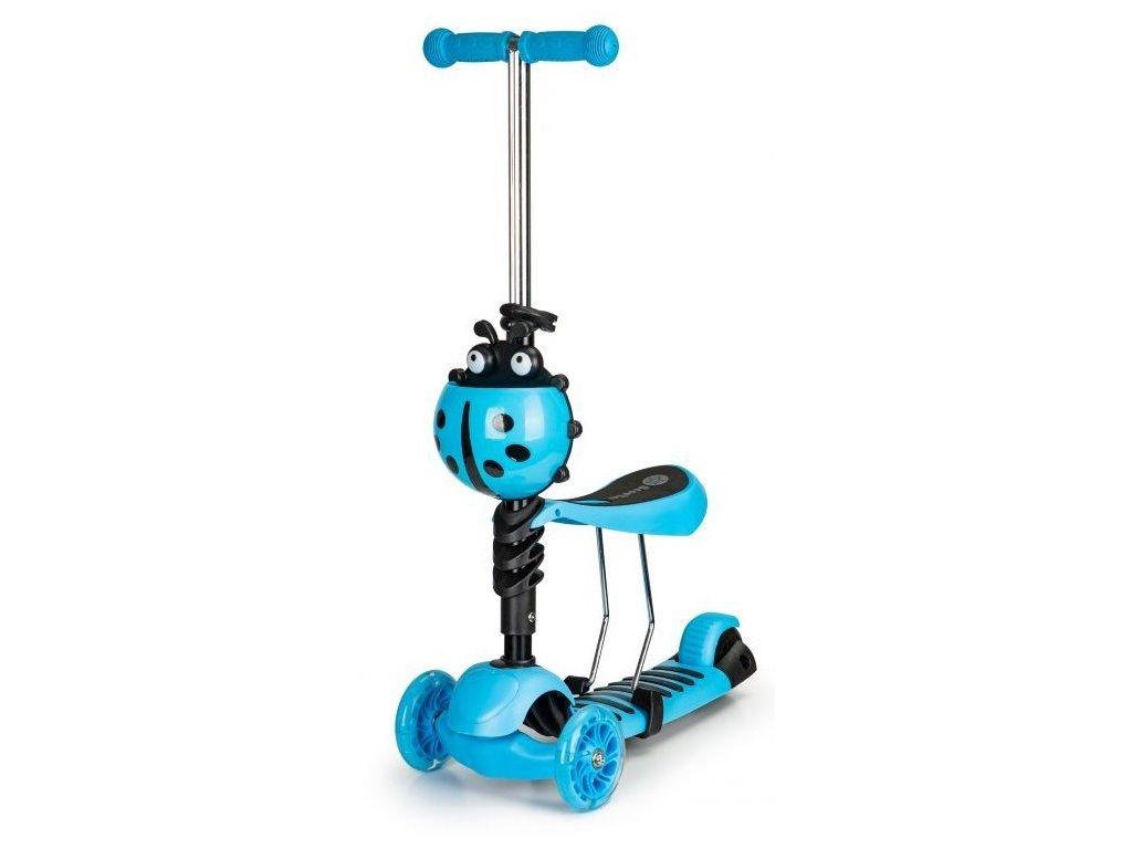 Ecotoys balancni kolobezka modrá