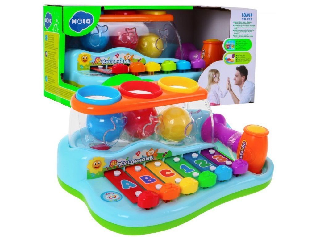Huile Toys detske cimbalky