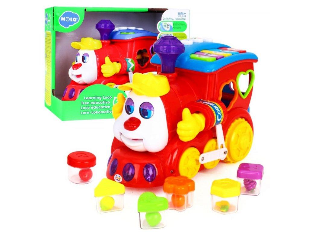 Huile Toys vesela Lokomotiva