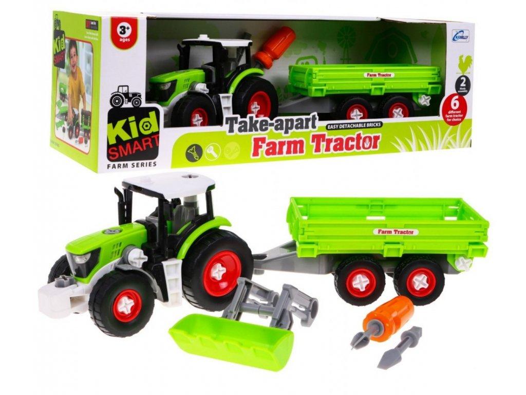 Sroubovaci traktor pro nejmensi