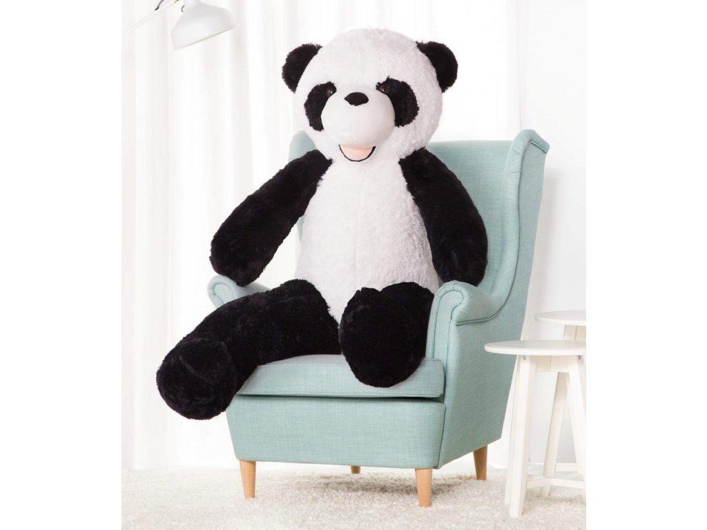 2267 plysovy medved panda xxl 160 cm